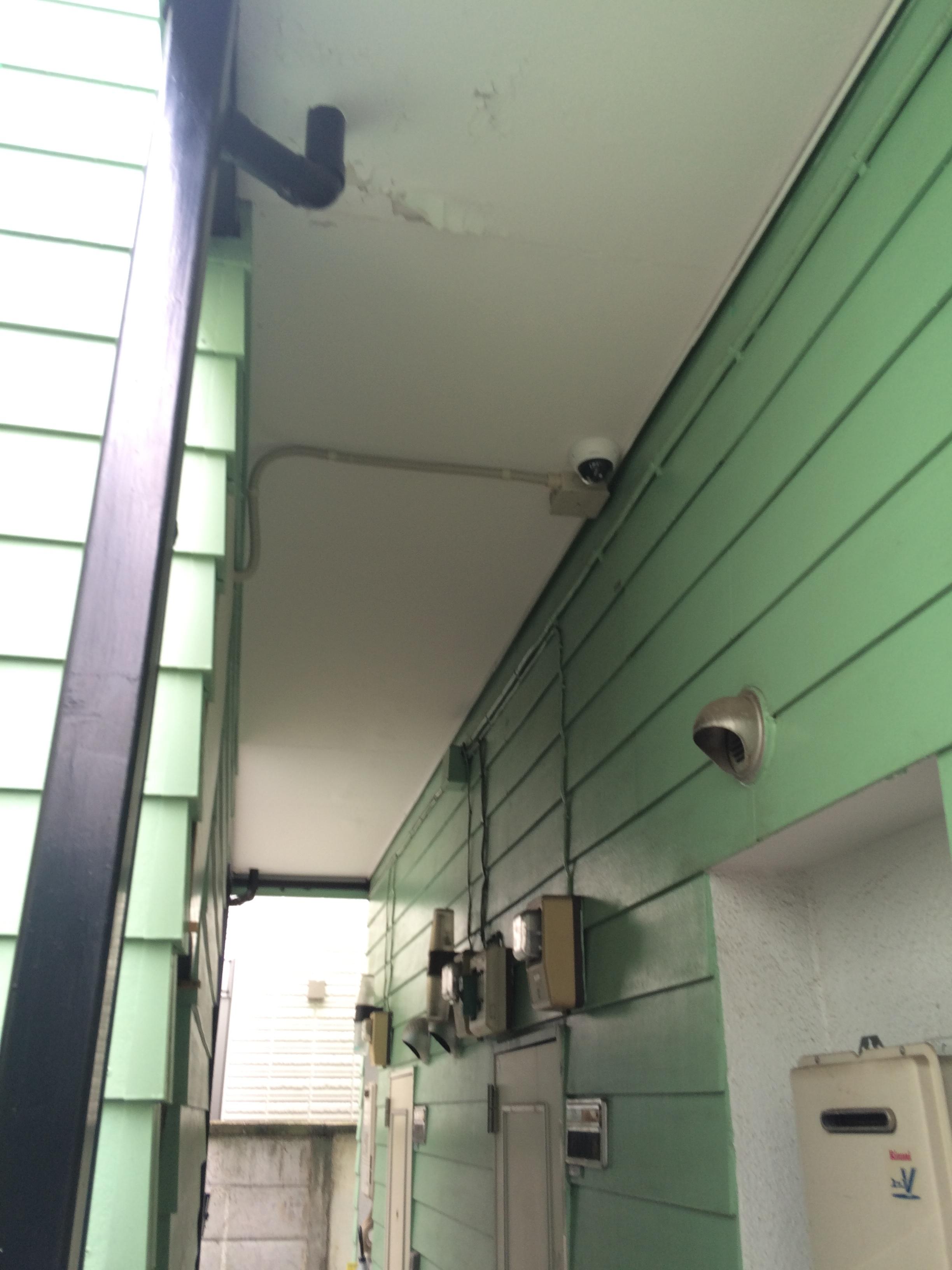 東京都 アパート共用部への不法投棄を防止