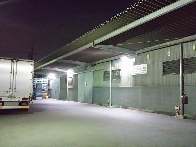東京都 倉庫へカメラ設置