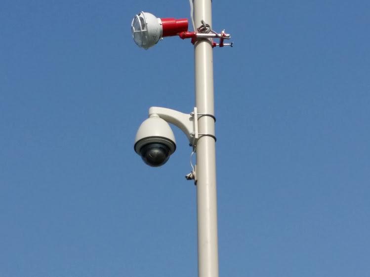 千葉県 資材置き場 カメラ新設
