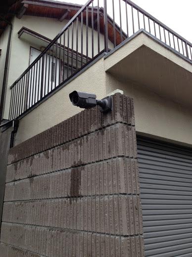 神奈川県 自宅カメラの移設工事
