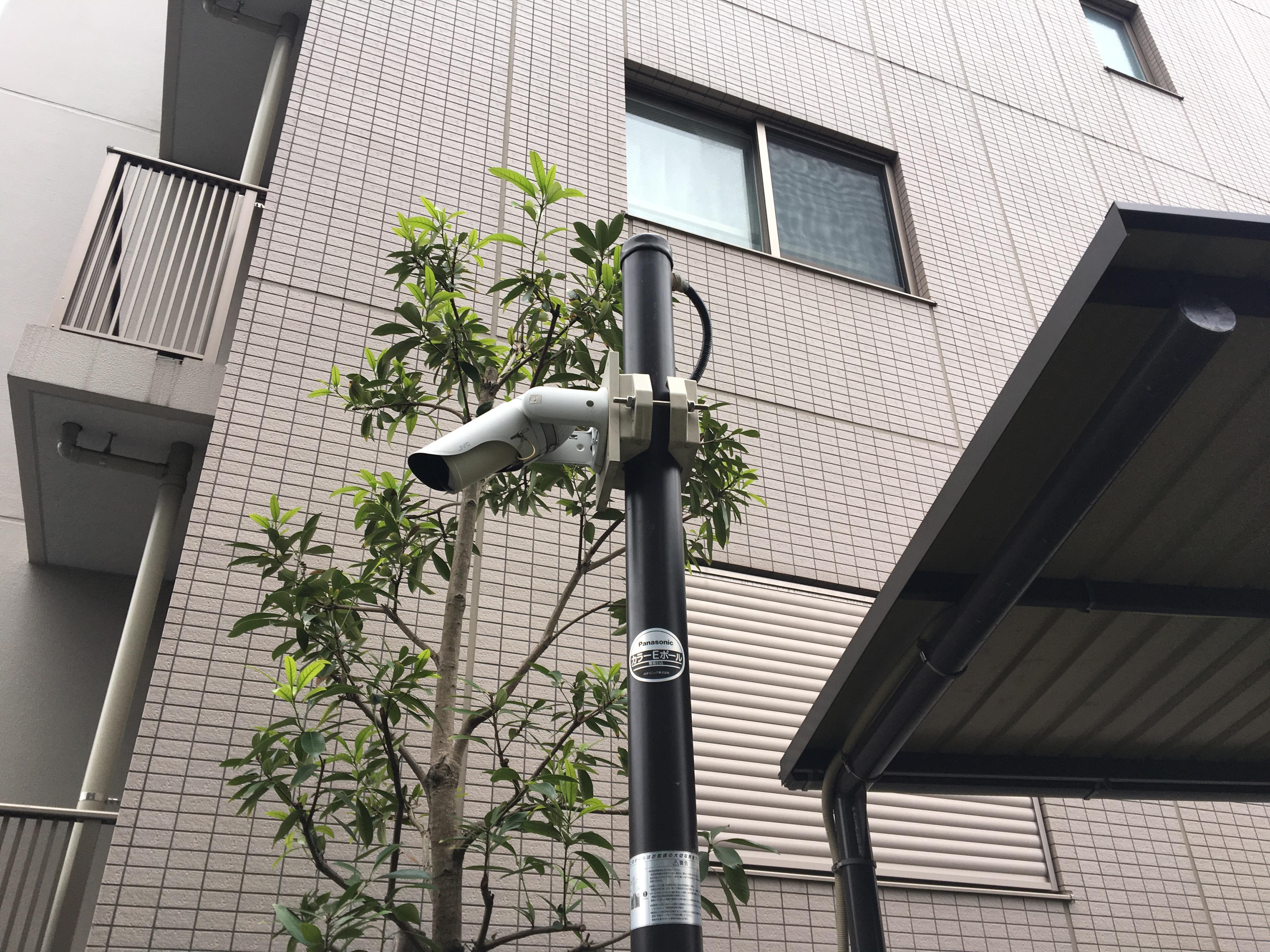 板橋区 分譲マンション 防犯カメラ入替