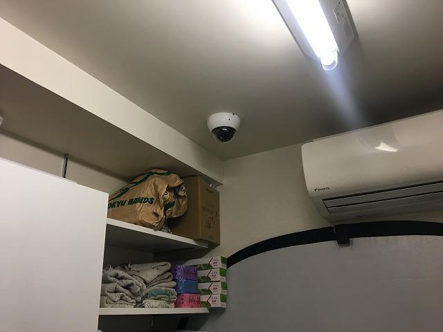 東京都 店舗 防犯カメラ設置