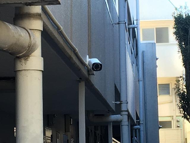 東京都 賃貸マンション 防犯カメラ設置