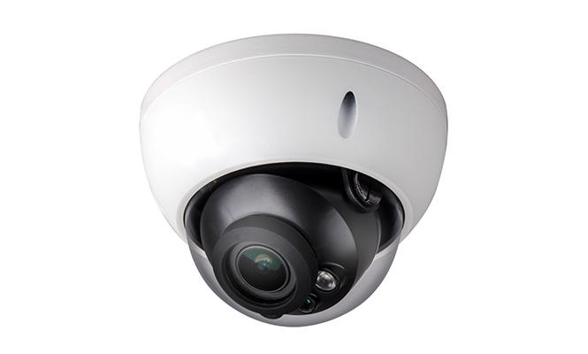 電動ズーム搭載 防水ドーム型カメラ