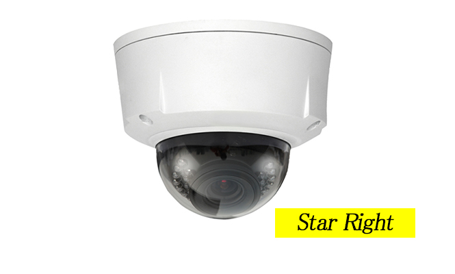 電動ズーム搭載 超高感度防水ドーム型カメラ